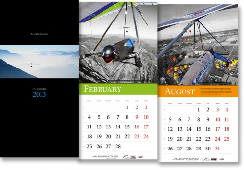 Дельтапланерный календарь на 2013