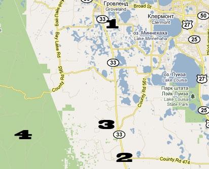 Карта местности рядом с Quest Air Soaring Center